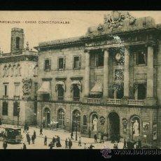 Postales: BARCELONA - CASAS CONSISTORIALES - MISSÈ HNOS. BCN. Lote 18238015