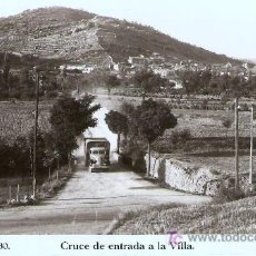 Postales: POSTAL DE SANAHUJA , ESCRITA EN 1960 CON SELLO . Lote 27478256