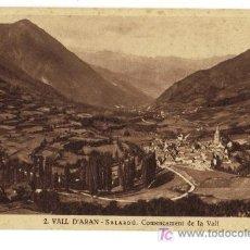 Postales: 2 VALL D'ARAN - SALARDÚ - COMENÇAMENT DE LA VALL. Lote 26918852