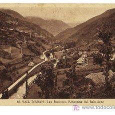Postales: 16 VALL D'ARAN - LES BORDES. PANORAMA DEL BAIX-ARAN. Lote 26918853