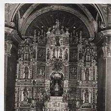Postales: BARCELONA. VICH. SANTUARIO DE NTRA. SRA. DE LA GLEVA. ALTAR MAYOR. SIN CIRCULAR. Lote 18337726