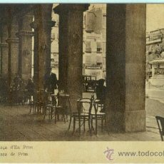 Postales: (PS-16117)POSTAL DE REUS(TARRAGONA)-PLAZA DE PRIM. Lote 18347677