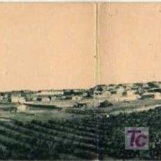 Postales: MUY BUENA Y RARA POSTAL DE SAN RAMON Y LA MANRESANA -ES TRIPTICA -VISTA PANORAMICA. Lote 18463754