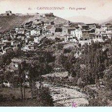 Postales: POSTAL DE CASTELLCIUTAT. Lote 22499518