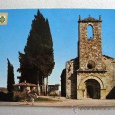 Postales: POSTAL DE BAÑOLAS Nº2750, IGLESIA ROMANICA DE PORQUERAS (ESCUDO DE ORO, SIN CIRCULAR). Lote 18608628