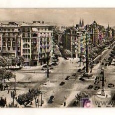 Postales: BARCELONA. PLAZA DE LA VICTORIA. POSTAL PANORÁMICA. (ZERKOWITZ). 22,5 X 9 CM. . Lote 18685064