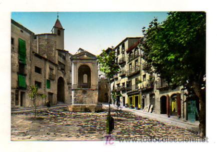 SOLSONA. PLAZA DE SAN JUAN. (ZERKOWITZ, Nº 40) (Postales - España - Cataluña Antigua (hasta 1939))