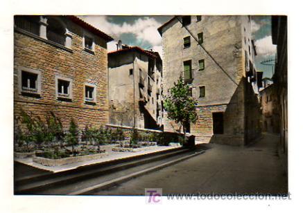 SOLSONA. PLAZA RIBERA. (ZERKOWITZ, Nº 33. ED. B. SUBIRÁ) (Postales - España - Cataluña Antigua (hasta 1939))
