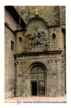 SOLSONA. CATEDRAL. PUERTA DE SAN AGUSTÍN. (ED. RAYMOND) (Postales - España - Cataluña Antigua (hasta 1939))