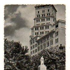 Postales: BARCELONA. AVENIDA DE JOSE ANTONIO. MONUMENTO MARQUÉS DE COMILLAS. (GRAFOTO). Lote 18912226