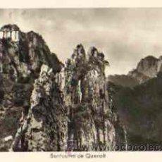 Postales: BERGA - SANTUARIO DE QUERALT. Lote 18712752