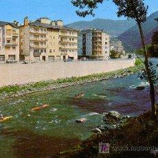Postales: SORT (LERIDA) - RIO NOGUERA PALLARESA - ED. SICILIA 1986. Lote 18743947