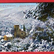 Postales: BARCELONA, IGLESIA DE VALLVIDRERA, P37685. Lote 18856544