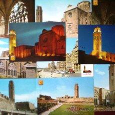 Postales: LERIDA (LERIDA LLEIDA) LOTE 10 POSTALES AÑOS 60/70 Nº 6. Lote 18907449