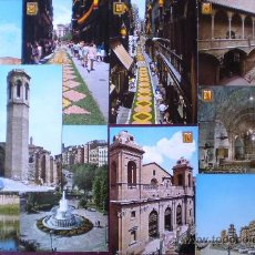 Postales: LERIDA (LERIDA LLEIDA) LOTE 10 POSTALES AÑOS 60/70 Nº 7. Lote 18907639