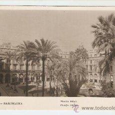Postales: BARCELONA - PLAZA REAL. Lote 18926355