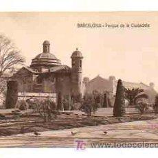 Postales: BARCELONA. PARQUE DE LA CIUDADELA. . Lote 18961338