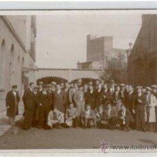 Postales: (PS-16669)POSTAL FOTOGRAFICA DE BARCELONA-FABRICA LA HISPANO SUIZA AÑO 1932. Lote 19049977