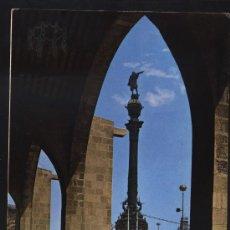 Postales: POSTAL DE BARCELONA Nº 635 MONUMENTO A CRISTÓBAL COLÓN. Lote 19228705
