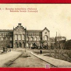 Postales: TARRASA, BARCELONA, ESCUELAS INDUSTRIALES TALLERES, INDUSTRIA LERNEJO LABOREJO, P38513. Lote 19242420