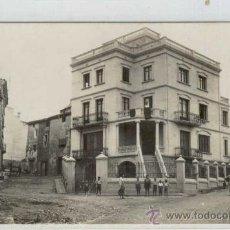 Postales: (PS-17287)POSTAL FOTOGRAFICA DE ROCAFORT DE QUERALT(TARRAGONA)-CALLE DE SAN ANTONIO Y CASA DE FERNAN. Lote 19280729