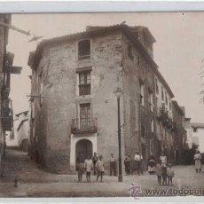 Postales: (PS-17326)POSTAL FOTOGRAFICA DE POBOLEDA(TARRAGONA)-CARRER ARRABAL. Lote 19374515