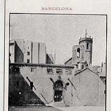 Postales: BARCELONA. IGLESIA DE SAN PEDRO DE PUELLAS. . TIPOLITOGRAFIA DE LUIS TASSO . Lote 25580074
