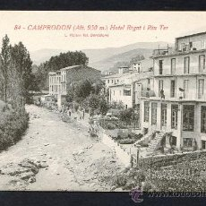 Postales: CAMPRODON *HOTEL RIGAT I RIU TER* ED. L. ROISIN Nº 84. NUEVA.. Lote 2608995