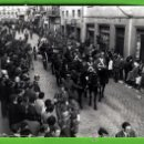 Postales: FOTO DE ENTIERRO DE LOS RESTOS DEL GENERAL PRIM DE REUS ESTUVO PEGADA EN UN ALBUN EDICION NIEPSE. Lote 19591520