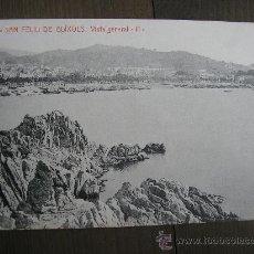 Postales: POSTAL SAN FELIU DE GUIXOLS VISTA GENERAL. Lote 23652522