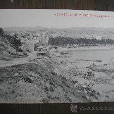 Postales: POSTAL SAN FELIU DE GUIXOLS VISTA GENERAL . Lote 23652523