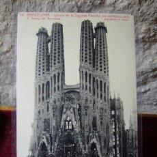 Postales: BARCELONA - TEMPLO DE LA SAGRADA FAMILIA - L. ROISIN - SÍN CIRCULAR. Lote 19806829