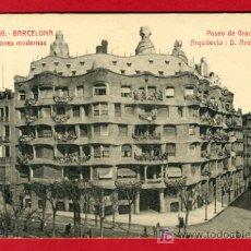 Postcards - BARCELONA, CONSTRUCCIONES MODERNAS, PASEO DE GRACIA, P41054 - 56826586