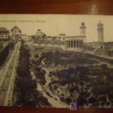 Postales: CUMBRE DEL TIBIDABO BARCELONA. Lote 20201360