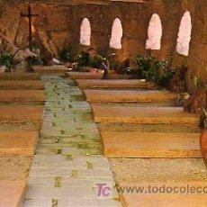 Postales: POSTAL DEL SANTUARI DE LA FONT SANTA CASTELL DE SUBIRATS CEMENTIRI. Lote 20695162