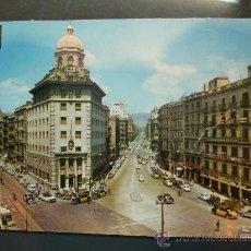 Postales: 4750 ESPAÑA SPAIN CATALUÑA BARCELONA CALLES PELAYO Y BALMES POSTCARD AÑOS 60 - TENGO MAS POSTALES. Lote 20712846