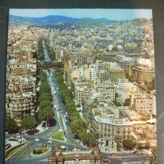 Postales: 4752 ESPAÑA SPAIN CATALUÑA BARCELONA ARCO DE TRIUNFO Y PASEO SAN JUAN AÑOS 60 - TENGO MAS POSTALES. Lote 20712882