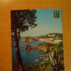 Postales: POSTAL TOSSA DE MAR (COSTA BRAVA) VISTA PARCIAL SIN CIRCULAR. Lote 20895567