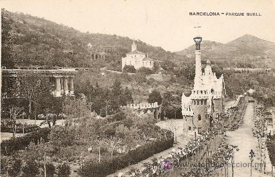 BARCELONA - PARQUE GÜELL (Postales - España - Cataluña Antigua (hasta 1939))