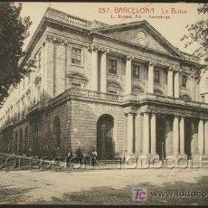 Postales: POSTAL BARCELONA LA BOLSA . L. ROISIN CA AÑO 1920 .. Lote 22593697