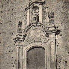 Postales: POSTAL DE S.HIPOLIT DE VOLTRAGA FETXADA DE LA IGLESIA. Lote 21111242