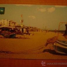 Postales: POSTAL CANET DE MAR (BARCELONA) PLAYA SIN CIRCULAR . Lote 21308287