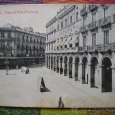 Postales: POSTAL REUS PLAZA DE PRIM PORTICOS TARRAGONA. Lote 21358143