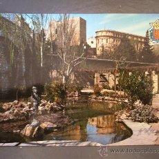 Postales: POSTAL DE TARRAGONA (COSTA DORADA) -502- FUENTE MAGINET. AL FONDO AUGUSTO Y MUSEO ARQUELOLOGICO. Lote 21490807