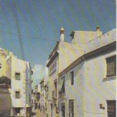 Postales: TOSSA DE MAR.CALLE DEL PORTAL.COCHE CLASICO Y BURRO. MAS COLECCIONSIMO EN RASTRILLOPORTOBELLO. Lote 23533027