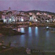 Postales: CALELLA DE PALAFRUGELL (COSTA BRAVA) - VISTA NOCTURNA. Lote 22378590