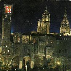 Postales: POSTAL BARCELONA - PLAZA BERENGUER EL GRANDE - 1963. Lote 22649123