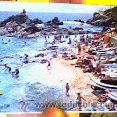 Postales: SA CARABERA.COSTA BRAVA(LLORET DE MAR);Gª GARRABELLA.1961.SIN CIRCULAR. Lote 22684292