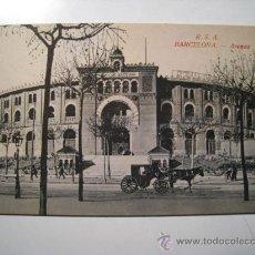Postales: POSTAL BARCELONA: PLAZA DE TOROS LAS ARENAS. Lote 22873078