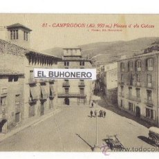Postales: 81.-CAMPRODOM (ALT.950M.) PLASSA D'ELS COTXES - (GIRONA) __ROISIN FOTO. Lote 27605206